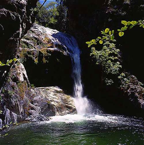 Pine Valley Falls, Ventana Wilderness