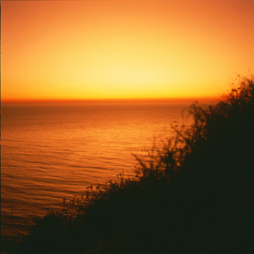 Sunset on the Big Sur Coast