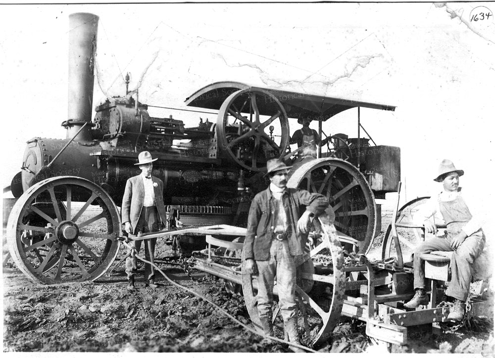 1-not-from-book-steam-tractor-with-plow